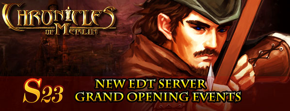 New Server S23 Grand Opening Events