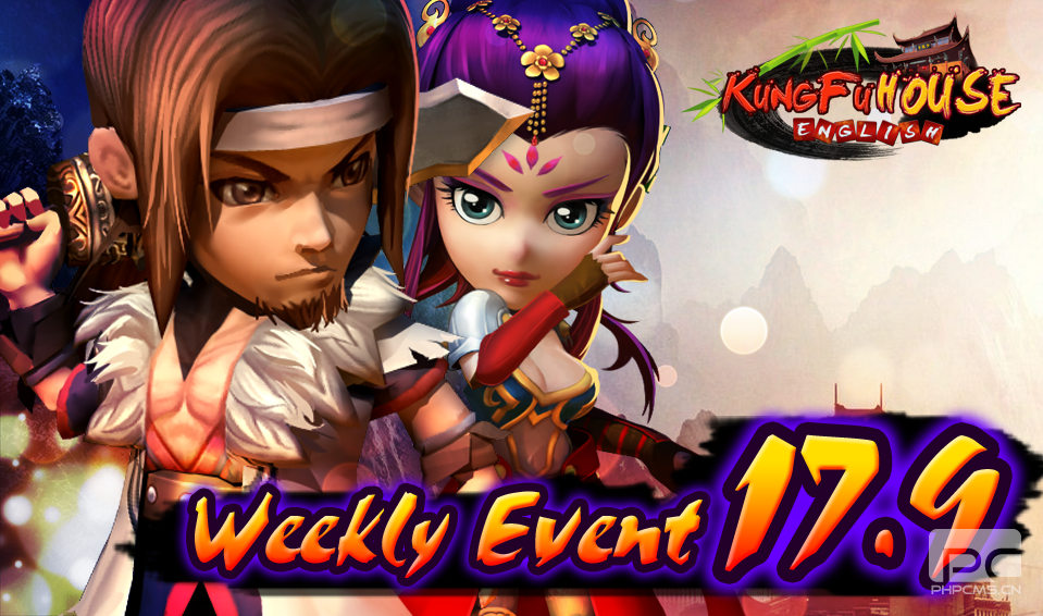 Weekly Event 17/9/2014