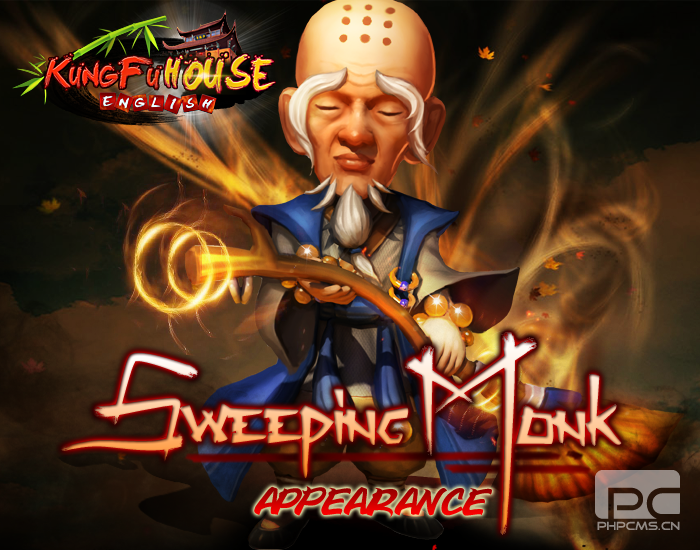 Sweeping Monk Appearance
