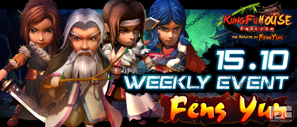 Feng Yun New Update Weekly Event 15/10/2014