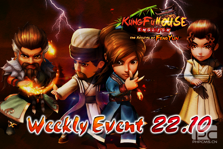 Weekly Event 22/10/2014