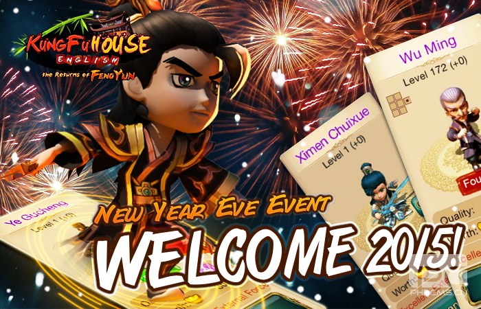 New Year Eve & New Year 2015 Event!