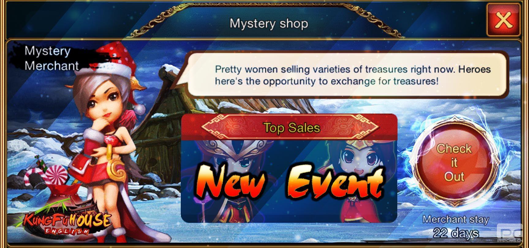 Mystery Merchant is back on Valentine's Week!