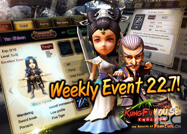 Weekly Event 22/7/2015