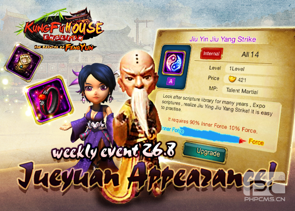 Weekly Event 26/8/2015
